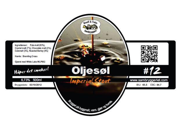 12-Oljesøl