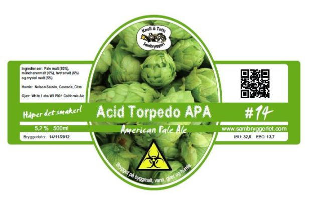 14-acid torpedo