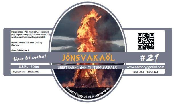 21-Jonsvakaøl