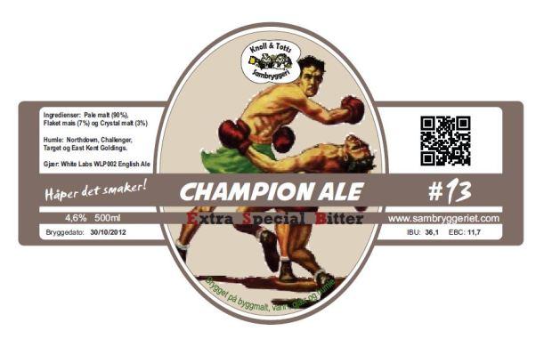 13-champion ale